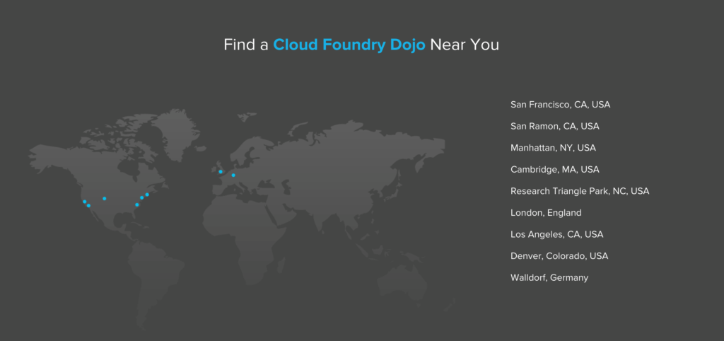 Cloud Foundry Dojo